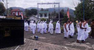 32 Calhaj Kotanopan dan Muara Sipongi Ikuti Manasik Haji