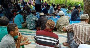 Acara Syukuran Panen di Paya Ombur