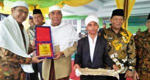 Pesantren Musthafawiyah Purba Baru Kembali Dapat Bantuan RKB dan Asrama