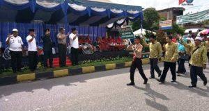 Wakil Bupati Madina Saksikan Pawai Taaruf MTQ ke 17