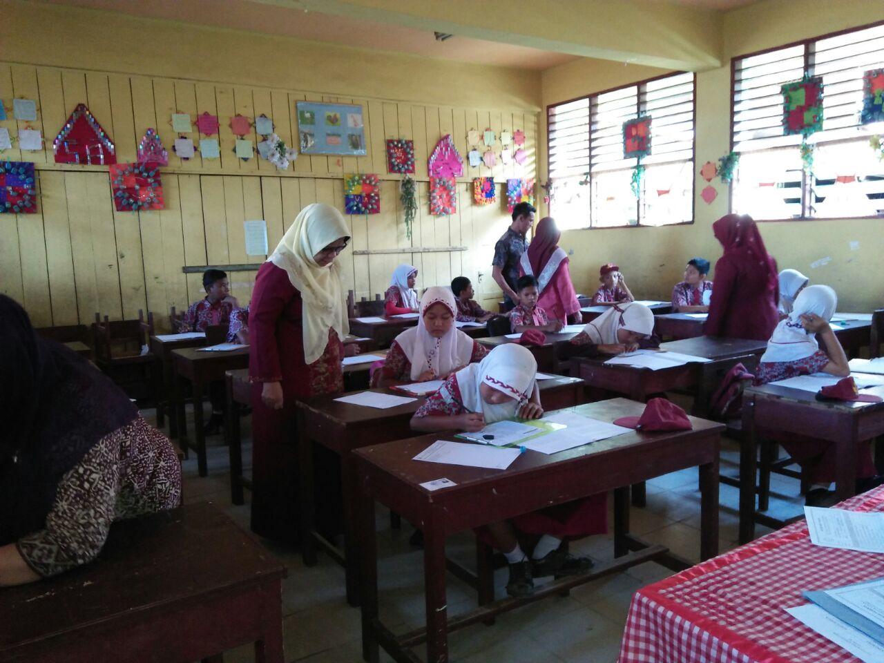USBN Tingkat SD di Kecamatan Kotanopan dan Tambangan Berlangsung Sukses