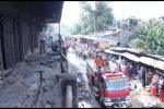 Kebakaran Pasar Baru,10 Jam Api Baru Bisa Dipadamkan Keseluruhan
