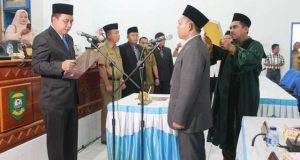 Anwar Sadat Resmi Dilantik Menjadi Anggota DPRD Madina
