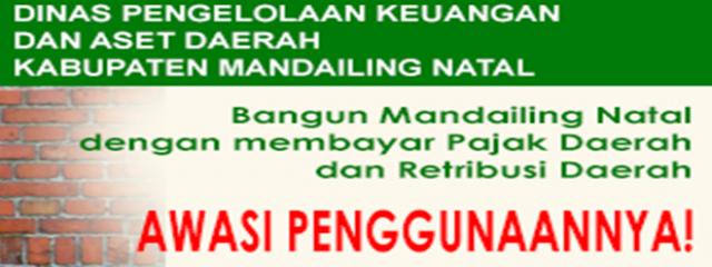 Bangun Madina dengan Membayar Pajak & Retribusi Daerah