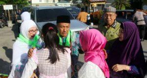 Keluarga Dilarang Masuk Asrama Haji
