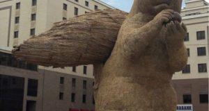 Viral 'Tupai' Raksasa Rp 963 Juta di Kazakhstan Tuai Kontroversi