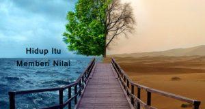 Hidup Itu Memberi Nilai