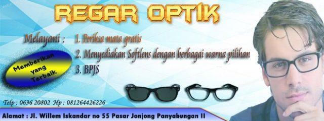 Regar Optik : Memberikan yang Terbaik