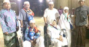 Jemaah Haji Madina Melaksanakan Tawaf dan Sa'i dengan Kursi Roda