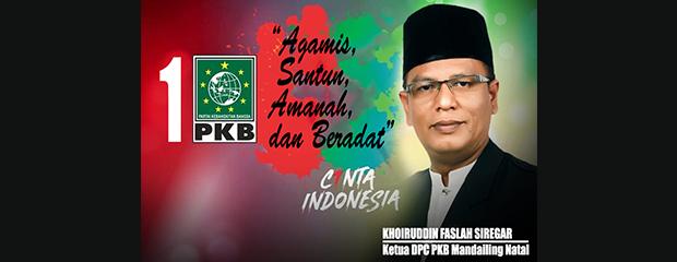Faslah, Sang Ketua DPC PKB Madina