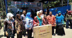 Tim Provinsi Monitoring Desa Binaan di Kotanopan