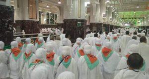 4 September, Jemaah Haji Kloter 3 Asal Madina Tiba di Medan