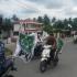 Hadiri Deklarasi Kampanye Damai, Partai PKB Konvoi Naik Motor ke KPU Madina