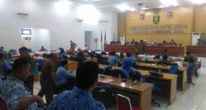Tim Banggar DPRD Mangkir Saat Rapat Pembahasan LKPJ Bupati Mandailing Natal Tahun 2017.