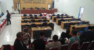 Anggota Dewan Kembali Berulah di Sidang Paripurna Keputusan LKPJ Bupati Tahun 2017