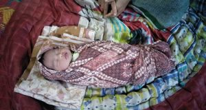 Bayi Dalam Kantong Plastik di Serahkan ke Dinas PPPA Madina