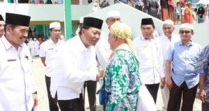 Jemaah Haji Mandailing Natal (Madina) Kloter 3 Embarkasi Medan Tiba di Kampung Halaman