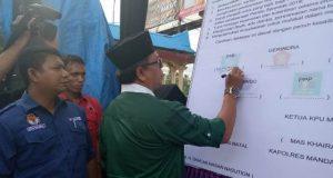 KPUD Madina Gelar Deklarasi Pemilu Damai 2019