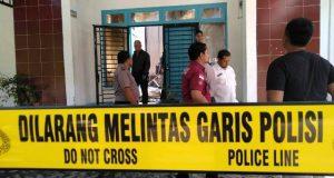 Selidiki Penyebab Kebakaran, Polisi  Lakukan Olah TKP di Gedung Kantor PMD