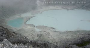 Kawah Gunung Sorik Marapi