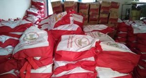 1.700 Paket Sembako Bantuan Jokowi Sampai di Madina