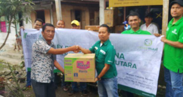 Monex Cabang Medan Peduli Korban Banjir Bandang Ulupungkut
