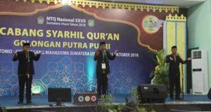 65 Grup Ikuti Cabang Syarhil Qur'an MTQ Nasional ke 27