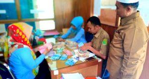 Donasi Gempa Palu  di Kemenag Madina Sudah Terkumpul Rp.42.382.000,-