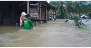 Banjir Kepung Pantai Barat Madina