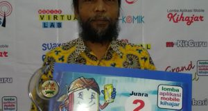 Ahmad Syukri Lubis, Juara Dua Nasional Kategori Virtual Lab Lomba Aplikasi