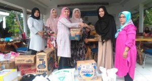 PMI Madina Salurkan Bantuan Korban Banjir di Natal