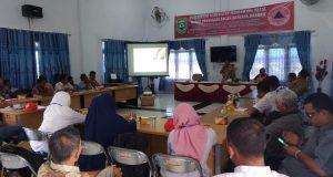 Pemkab Madina Adakan Sosialisasi Parsitipasi Kepentingan Masyarakat Pasca Bencana TA 2018
