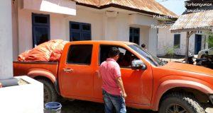 Hari ini BPBD Madina Berangkatkan 5 Mobil Logistik  Ke Lokasi Bencana