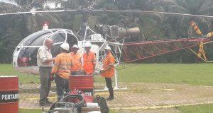Bantuan Untuk Korban Banjir MBG di Distribusikan Pake Helikopter