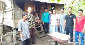 Membangun Desa dengan Gerakan Ikhlas Berbagi