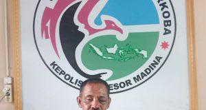 Polisi Grebek Kantor Persatuan Perawat Nasional Indonesia di Panyabungan
