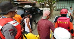 5 Hari Hilang di Sungai Batang Gadis, Roni Risky Ditemukan Sudah Tidak Beryawa