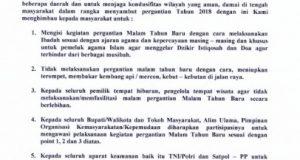 Gubsu Edy Minta Pimpinan Daerah Gelar Doa Bersama di Pergantian Tahun 2018