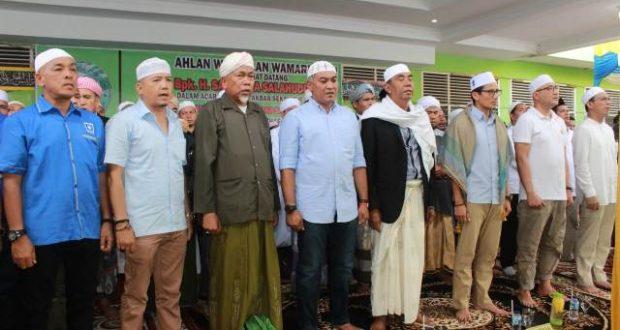 Sandiaga Uno Hadiri Tablig Akbar di Ponpes Mustafawiyah Purba Baru