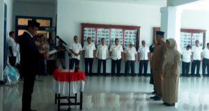 Wakil Bupati Madina Lantik Kadisdik dan Kaban BKD