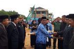 Ketua Pengadilan Agama Panyabungan Pimpin Upacara HAB ke-73