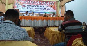 Bawaslu Madina Laksanakan Sosialisasi Pengawasan Partisipatif Pemilu 2019