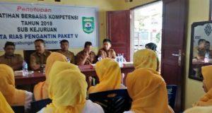 Disnaker Madina Buka Pendaftaran Pelatihan Berbasis Kompetensi