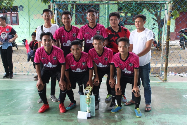 Casper FC Juarai Turnamen Futsal Trofi Khoiruddin Faslah Siregar