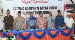 KPU Madina Adakan Rakor Untuk Jadwal dan Tempat Kampanye