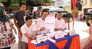 KPUD Madina Gelar Simulasi Putungsuara Pemilu 2019
