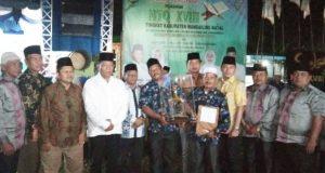 Kecamatan Panyabungan Raih Juara Umum MTQ Ke XVIII Madina