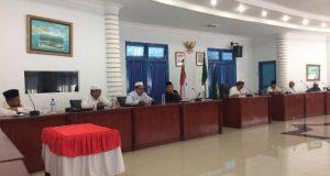 Pelaksanaan MTQ Tingkat Kabupaten  Madina di Simpang Gambir