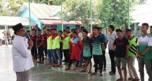 Pembukaan Turnamen Futsal Trofi Khoirudddin Faslah Siregar