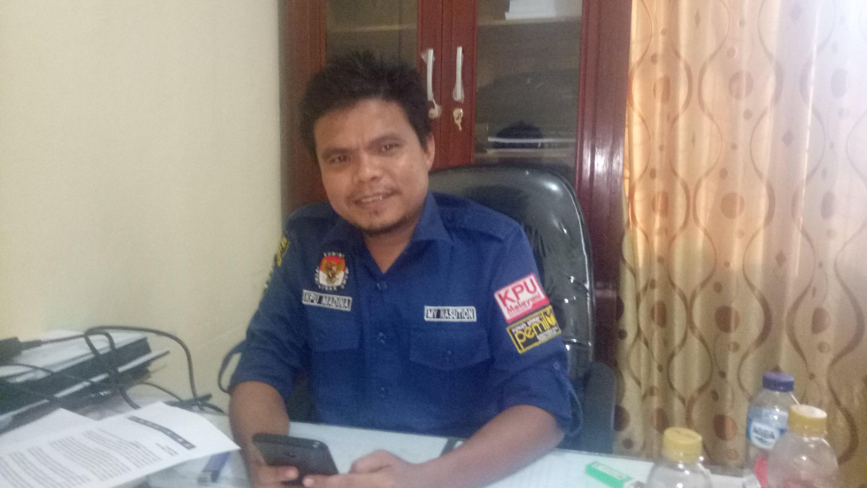 Foto : Muhammad Yasir Nasution Anggota KPU Madina akan melakukan 2 PSU di Madina.